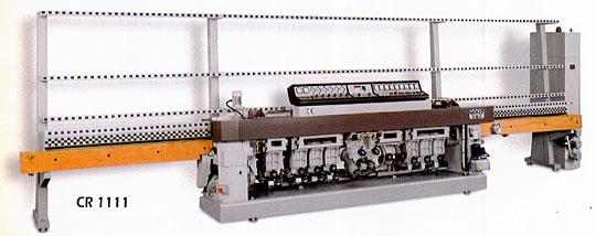 縦型板ガラス研磨機